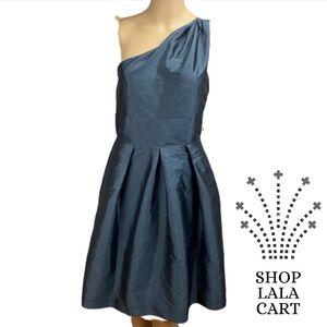 NWOT ALFRED SUNG One Shoulder Midi Dress